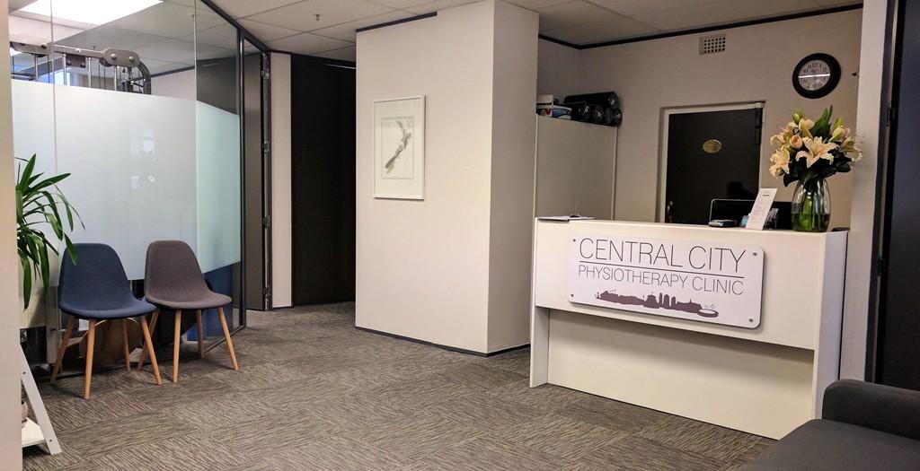 Central City Physio Wellington Reception