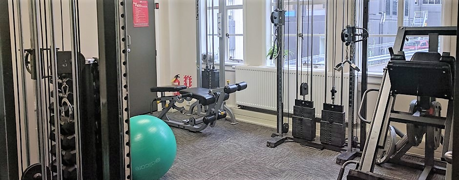 Central City Physio in-house gym
